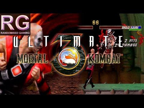 Ultimate Mortal Kombat 3 - Sega Saturn - Kano arcade playthrough & ending [HD 1080p 60fps]