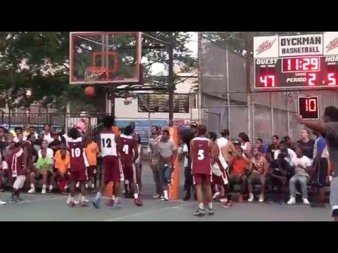 July 29, 2015 Dyckman Basketball Tournament(25th Anniversary):Dunk Contest(Ft.Dunk Elite Dunkers)