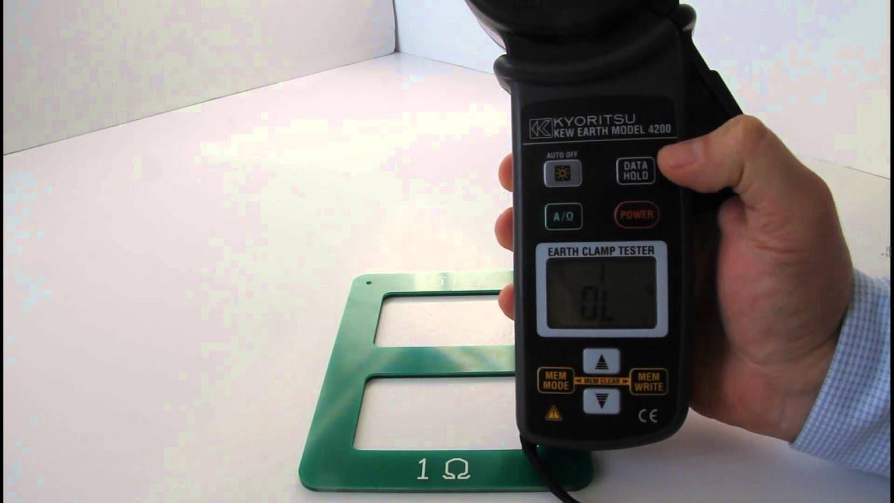 Kết quả hình ảnh cho đồng hồ đo điện trở đất kyoritsu 4200