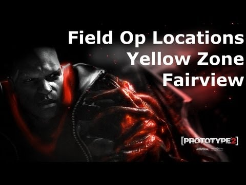 Prototype 2: Yellow Zone - Fairview Field Op Locations on