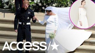 Royal ripoff? Meghan Markle's wedding dress is strikingly similar t...