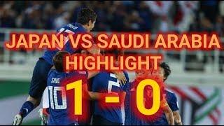 [HIGHLIGHT] Japan vs Saudi Arabia 2019   1 - 0   ASIAN CUP