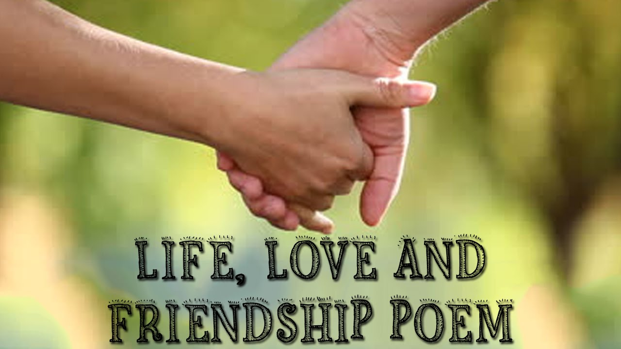 Beautiful Poem On Life Love And Friendship Vivek Awasthi Youtube