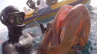 pesca profunda a peso constante por Javier Camacho del equipo Mares thumbnail