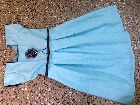 DESINGNER BOX PLEATS FROCK WITH CAP SLEAVES STITCHING IN A SIMPLE  METHOD PART 2