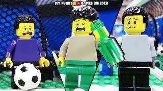 Funny Soccer Football Vines • LEGO Football Fail in Lego Stop Motion Animation