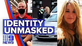 Coronavirus: Viral Bunnings anti-masker identity revealed | 9 News Australia