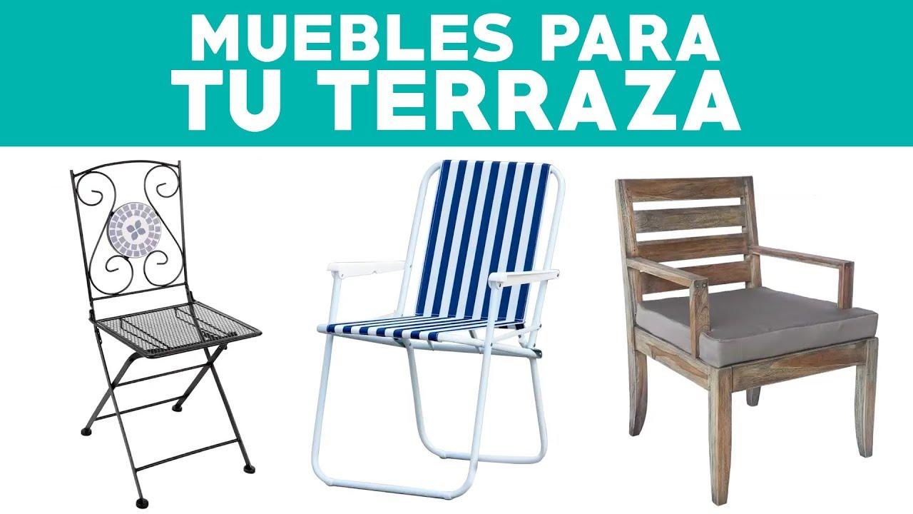 C mo elegir muebles de terraza seg n su materialidad for Terrazas sodimac 2016