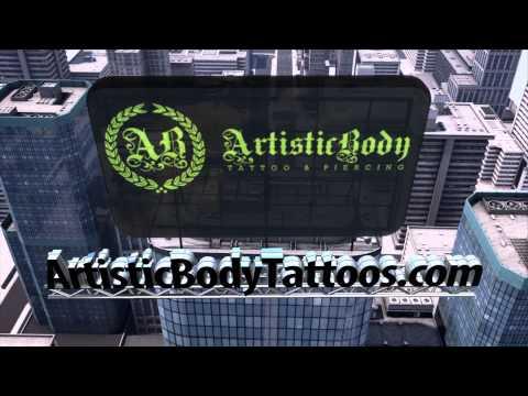 Artistic Body Tattoo Where Art Becomes You