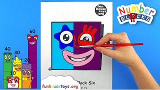Numberblocks Face Painting | Numberblocks Five and Six | Fun House Toys
