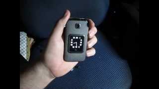 Fly Ezzy Trendy Телефон. Распаковка и обзор.(Телефон Fly Ezzy Trendy. На внешнем дисплее видно кто звонит в виде медленной бегущей строки. Принятие вызова подн..., 2013-03-16T06:17:47.000Z)