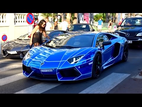 GOLD DIGGER VS AVENTADOR in Cannes
