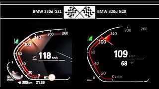 BMW 330d G21 VS. BMW 320d G20 …