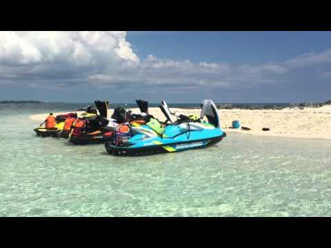 Florida to Freeport Bahamas on Sea Doo jet ski