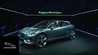 Jaguar I-PACE Concept | All-Electric Jaguar Unveiled in LA