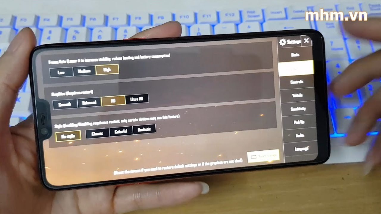 OPPO F7 Chơi PUBG Mobile Quá Ngon Với độ Phân Giải HD đẹp