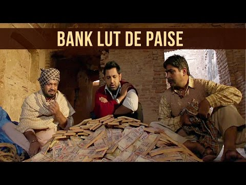 Bank lut de paise - Punjabi comedy | Jatt James Bond