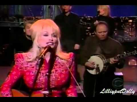 Dolly Parton Shine on Letterman
