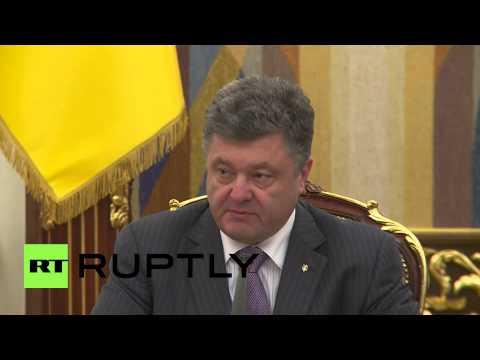 Ukraine: Poroshenko announces potential ceasefire plans