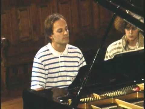 George Gershwin : Rhapsody in blue  for 2 pianos. Hélène Mercier - Louis Lortie