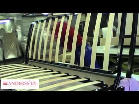 Как собираются диваны фабрики мебели Андерссен