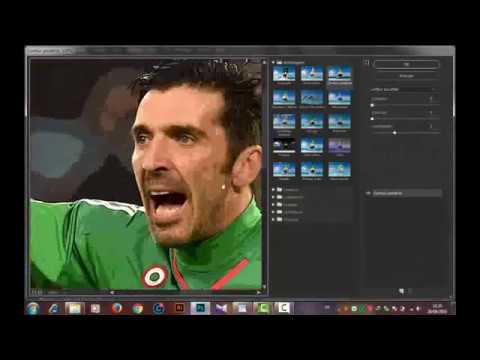 Vector Art - Photoshop CC - Speed Art ( Buffon )