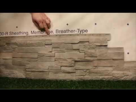 fassadenverkleidung novik ds montage youtube. Black Bedroom Furniture Sets. Home Design Ideas