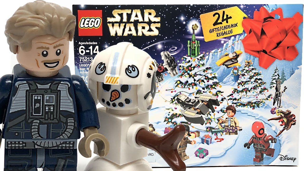 LEGO Star Wars 2018 Advent Calendar review and unboxing!   YouTube