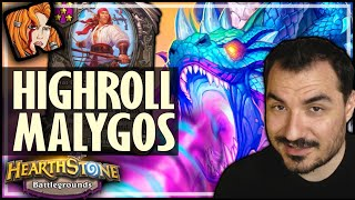 HIGHEST ROLL MALYGOS EVER?! - Hearthstone Battlegrounds