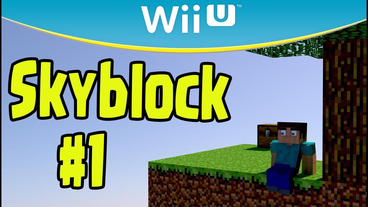 Minecraft Wii U - SKYBLOCK Survival (Part 12)