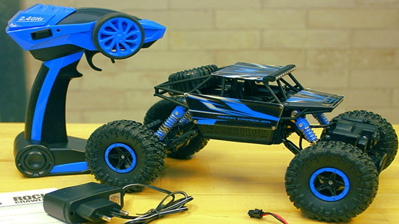 Mainan Mobil Remote Control Monster Truck 4wd 2 4ghz Rc Offroad Cars Toys For Kids Youtube
