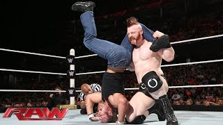Dean Ambrose vs. Sheamus: Raw, June 15, 2015