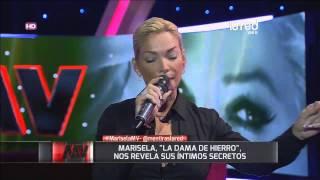 La apasionada Marisela nos canta en Mentiras Verdaderas