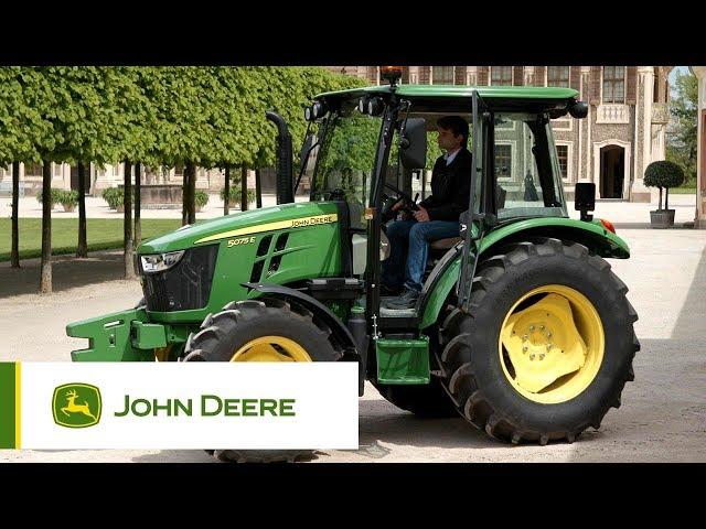 Prezentacja ciągnika John Deere serii 5E 3 cyl.