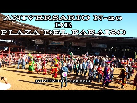 ANIVERSARIO N  2O DE LA PLAZA EL PARAISO HOUSTON, TX