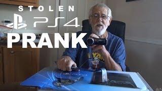 STOLEN PS4 PRANK!