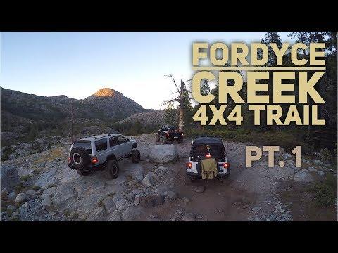 FORDYCE Creek 4X4 Trail (Off-Roading) - Pt. 1