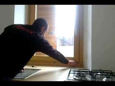 Piano cottura sotto la finestra aprix.it - YouTube