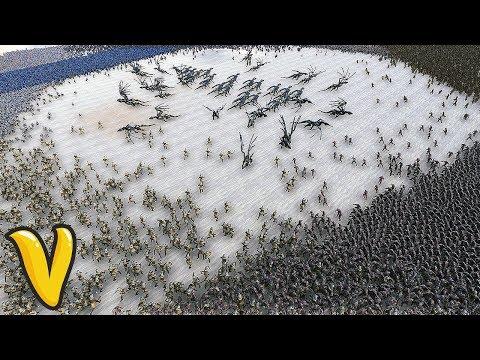 16000 SOLDIERS ULTIMATE MELEE SHOWDOWN! Ultimate Epic Battle Simulator