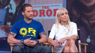 Tom Hardy, Noomi Rapace Interview 2014: Actors Star in 'The Drop'