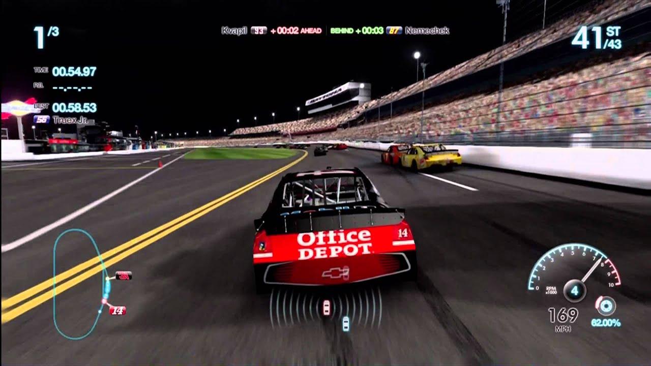 Nascar Games For Xbox 1 : Nascar the game inside line xbox gameplay daytona