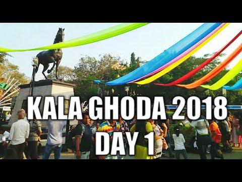 KALA GHODA ART FESTIVAL 2018 DAY 1 VLOG