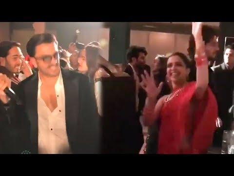 Deepika Padukone And Ranveer Singh Dance At Isha Ambani Sangeet Party 2018