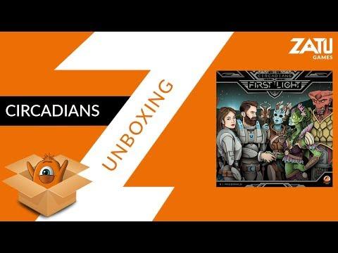 Circadians Unboxing