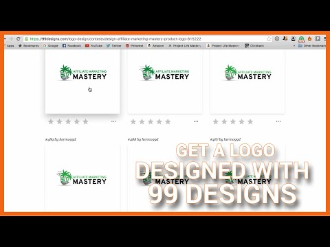How To Get A Logo Designed With 99 Designs (Affiliate Marketing Mastery)