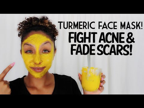 DIY Turmeric Face Mask! Fight Acne and Fade Scars ...