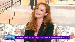 Olimpia Melinte, actrita principala din serialul ,,Vlad