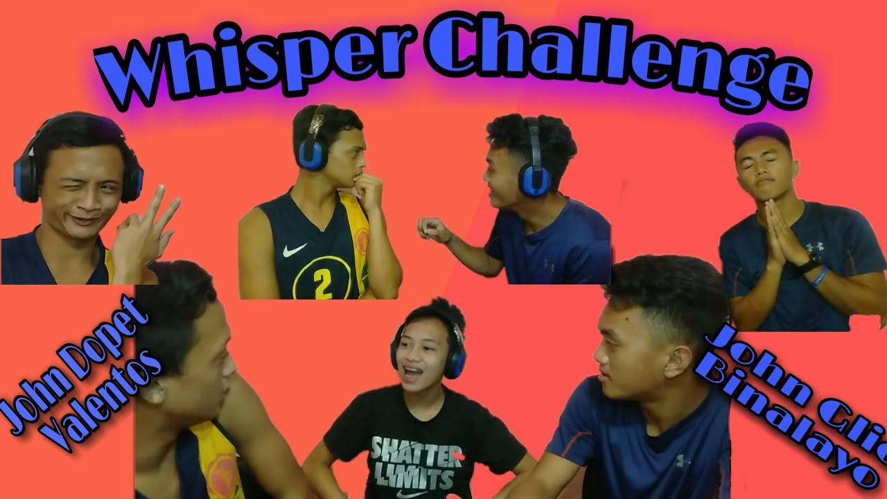 Whisper Challenge With My Cousins    Prince Kenneth Lim    Vlog #6