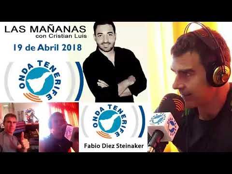 Fabio Diez en Radio Onda Tenerife 64