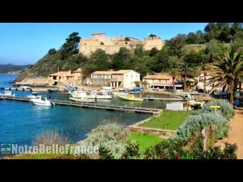 île de Port-Cros, Les îles d'Hyères (notrebellefrance, site naturel maritime)